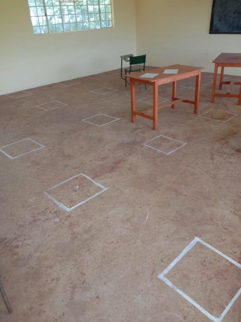 SERGOEK Classroom distancing