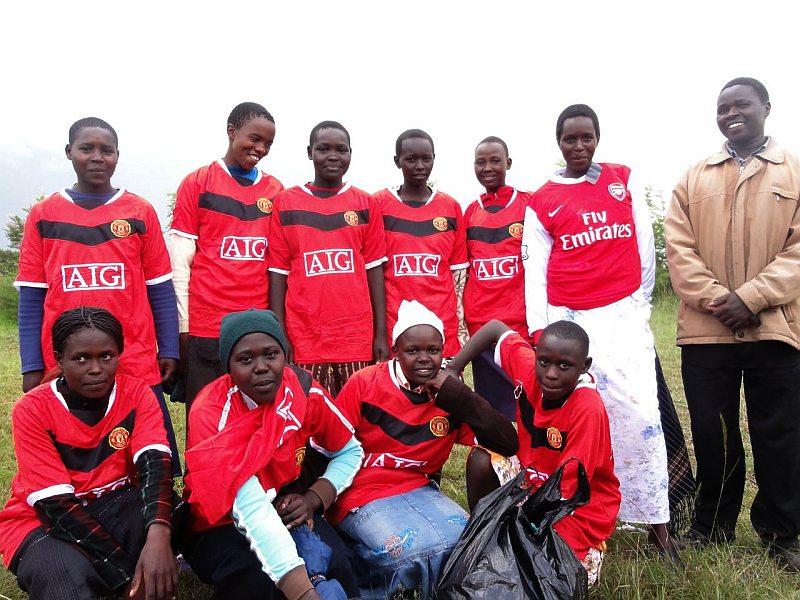 Chepkanga girls winning team
